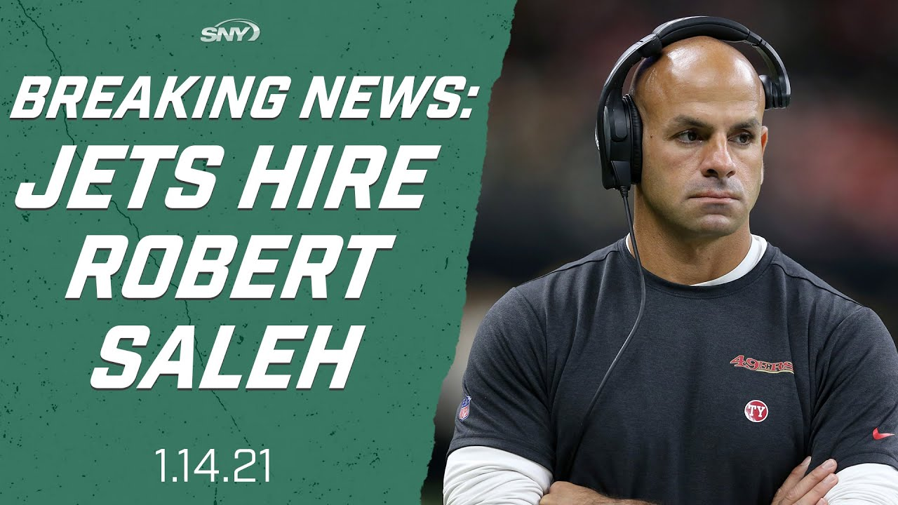Jets hire Robert Saleh to be their next head coach | New York Jets | SNY -  YouTube