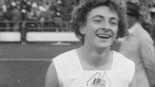 Marjorie Jackson Wins 100m - Australia