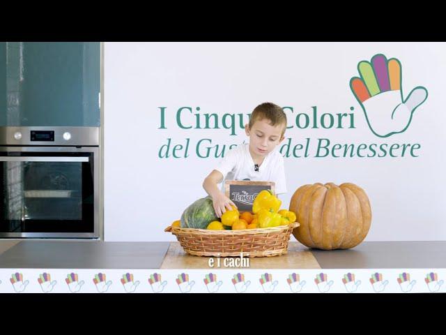 I cinque colori del Gusto e del Benessere - colore arancio - video teaser-15s