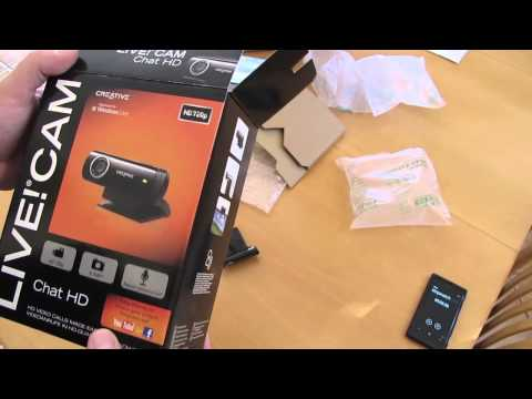 Unboxing: Creative Live! Cam Chat HD