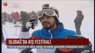 Uludağ'da kış festivali (Haber 17 01 2017)
