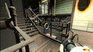 Portal 2 Walkthrough: Chapter 6 The Fall ( Part 2)