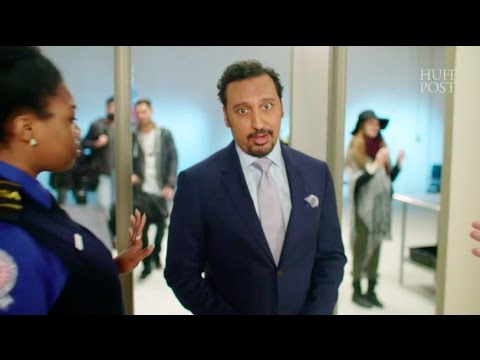 Aasif Mandvi's Flight Safety Rules For Brown People | Celebs Have Issues Ep. 9