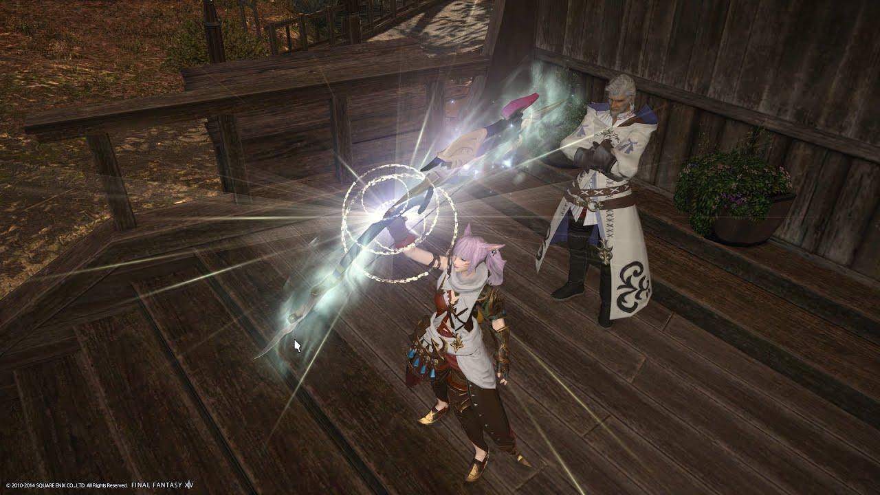 Final Fantasy XIVA Realm Reborn Relic Weapon Artemis