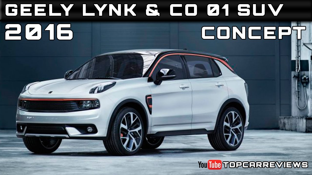 Geely Lynk Co Suv Concept Review Rendered Price Specs