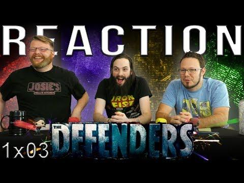 "Marvel's The Defenders 1x3 REACTION!! ""Worst Behavior"""