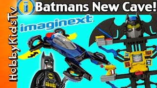 NEW IMAGINEXT Batman Toys Transforming Cave+Car! Blind Surprise Boxes By HobbyKidsTV