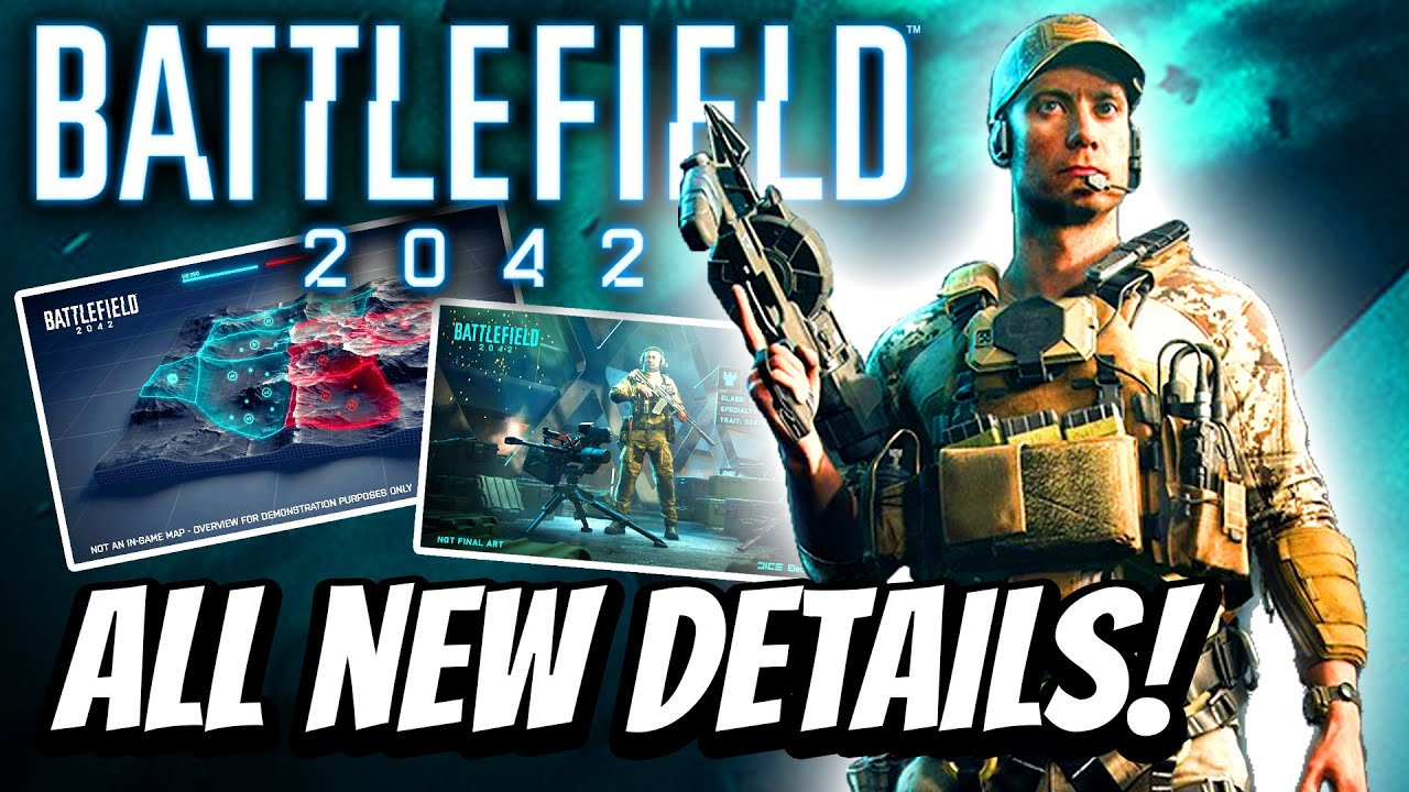 Battlefield 2042 ALL NEW DETAILS! New Conquest Mode Features, New Hazard Mode, Specialists, AI Bots!
