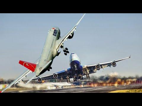 The Best CROSSWIND Landings and Take-Offs!