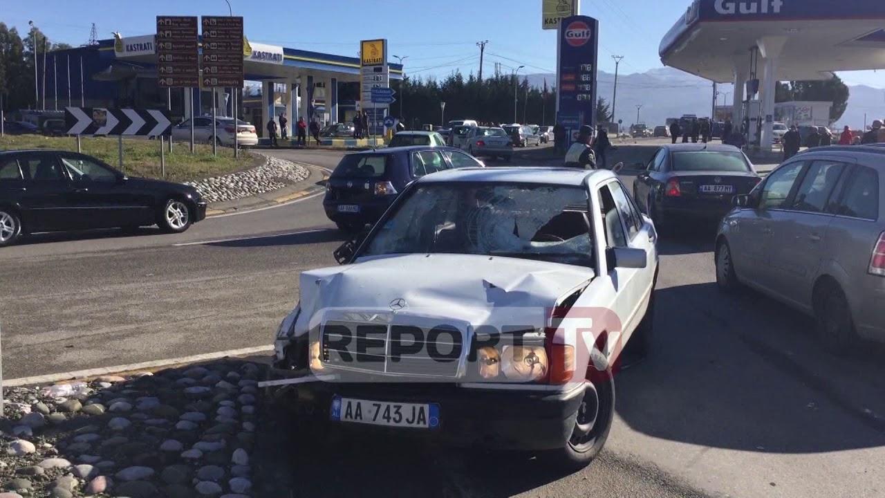 Report TV - Tjetër aksident në Elbasan, vdes kalimtarja, plagosen 2 të tjerë