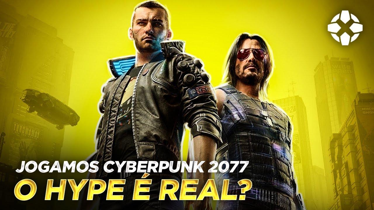 JOGAMOS CYBERPUNK 2077 - JOGO DO ANO? | PC, XBOX ONE, SERIES X, PS4, PS5