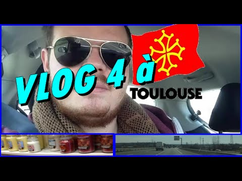 #VLOG 4 - TOULOUSE - Accident - Boutique - Sortie - Velib - CafePop