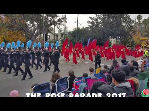 The Rose Parade Marching Bands 2017