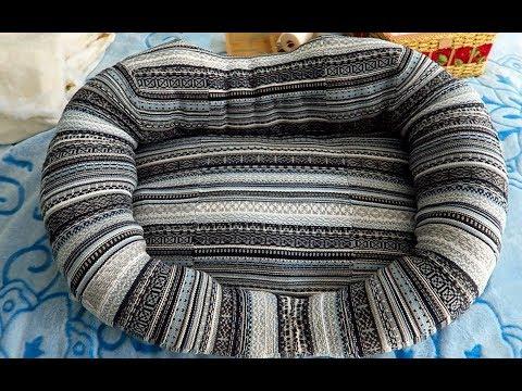 Лежак для кошки из свитера своими руками мастер класс