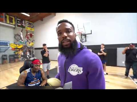 Cash vs Brawadis 1v1 Basketball Game Reaction video