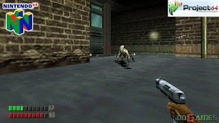 Turok 3: Shadow of Oblivion - Gameplay Nintendo 64 1080p (Project 64)