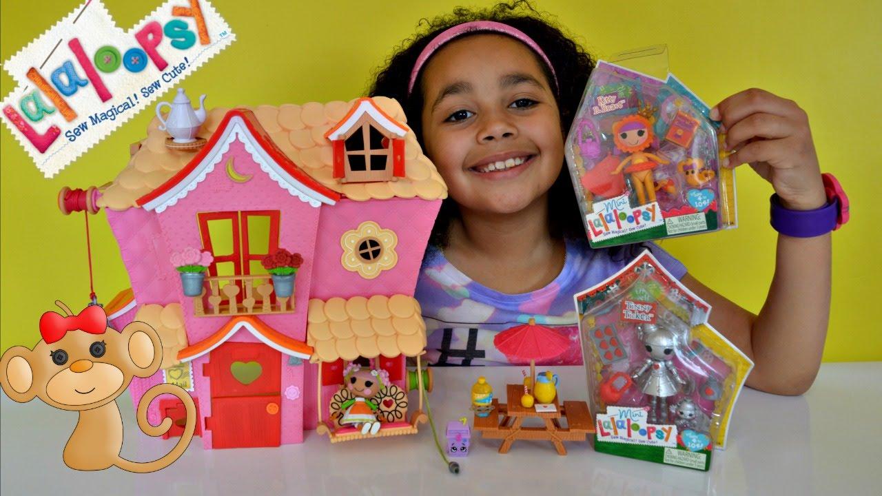 Lalaloopsy Sew Magical Sew Cute Playhouse Lalaloopsy