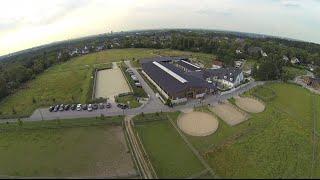 Drohnenflug Rhenania Reitsportzentrum Baldeney
