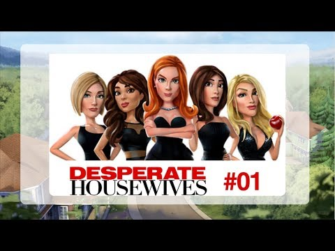 Desperate Housewives Game - Getting Started/Tutorial Gameplay - Let's Play Part 01 - IOS
