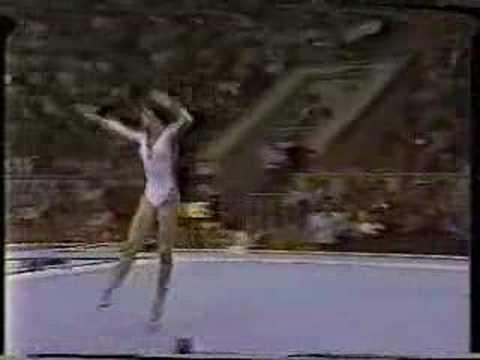 Nadia Comaneci - 1980 Olympics EF - Floor Exercise