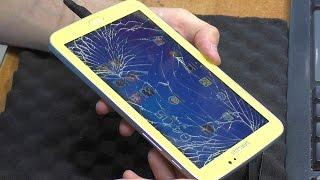 Разбито сенсорное стекло. Планшет Samsung Galaxy Tab 3 7.0 SM-T210 (GT-P3210). Замена тачскрина