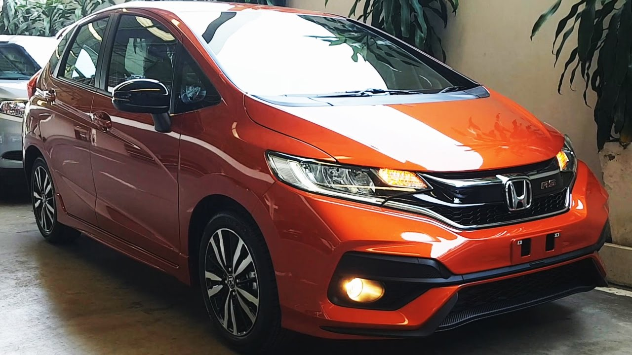 Honda Jazz 2017 Minorchange 1.5 RS CVT - YouTube