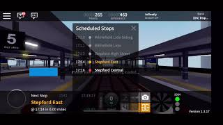 Whitefield Lido to Stepford Central on ROBLOX SCR