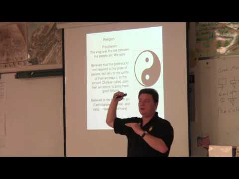 PTSA World History Lecture Series Class #3 Chinese River Civilization - Legalism - and Confucianism