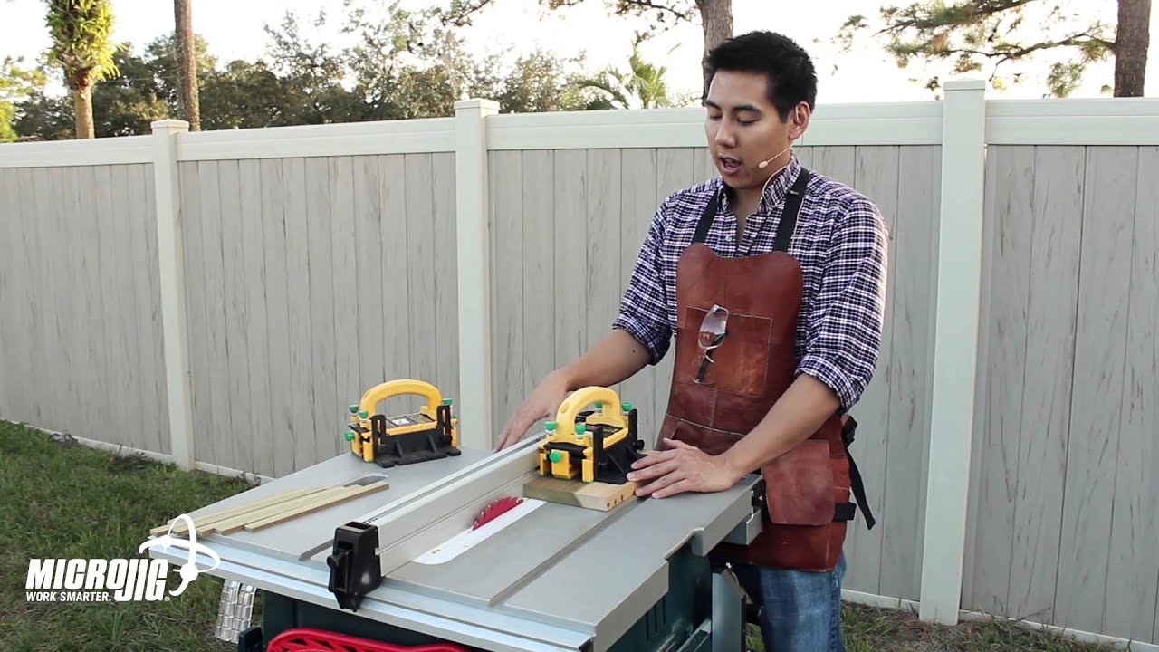 Top three upgrades for the bosch 4100 jobsite table saw safer top three upgrades for the bosch 4100 jobsite table saw safer and cleaner cutting youtube keyboard keysfo