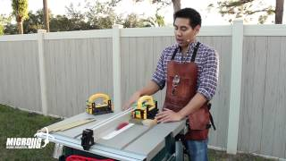 Top Three Upgrades For The Bosch 4100 Jobsite Table Saw - Safer And Cleaner Cutting