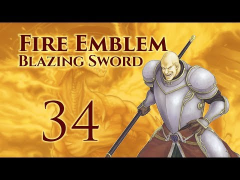 Chapter 24 1/?: Let's Play Fire Emblem 7, Hector Hard Mode Ranked Walkthrough - Part 34
