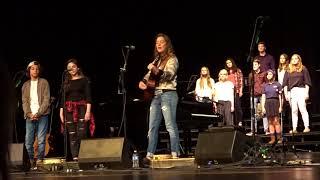Hallelulah, Brandi Carlile and Tahoma Choir, Maple Valley, WA, 2018