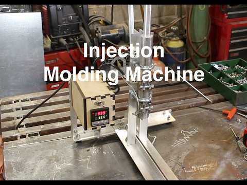 Injection Molding Machine for under $100 in parts!