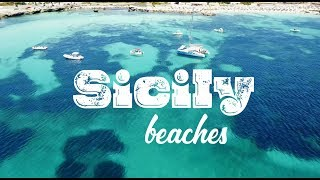 Top Sicily beaches ✽ Italy