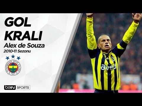 Süper Lig'in Gol Kralları | 2010-11 | Alex de Souza