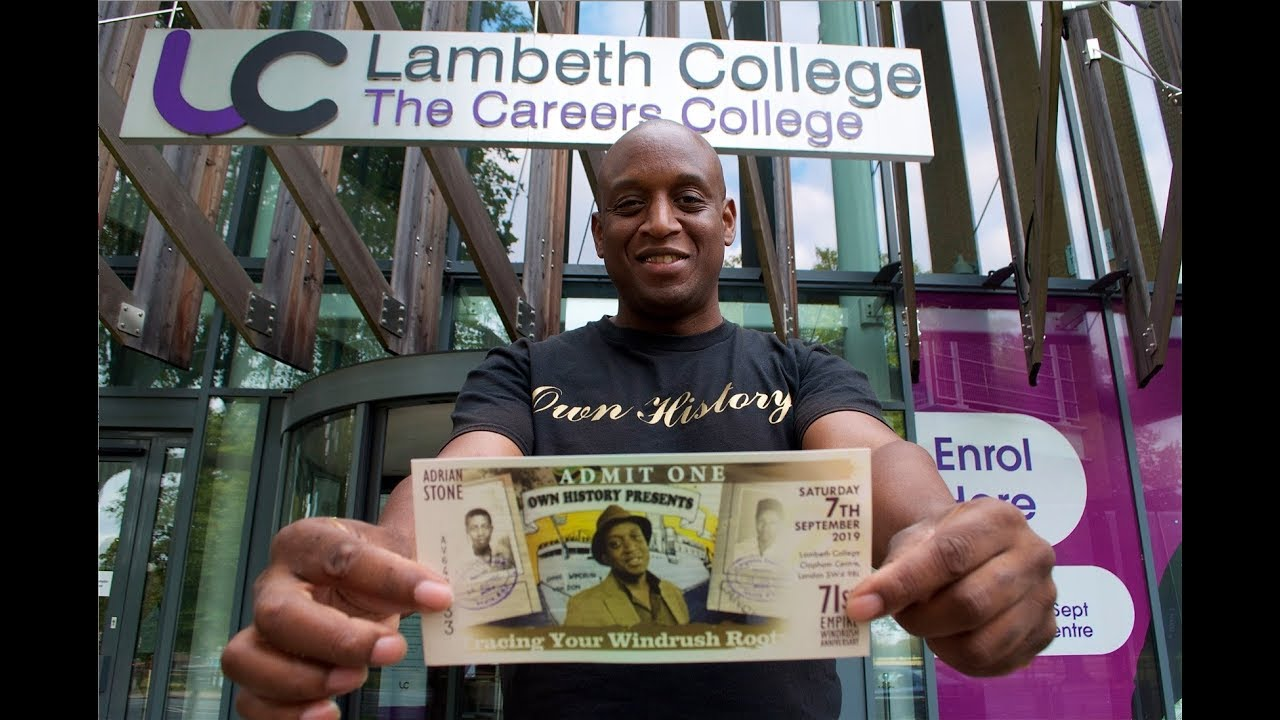 OWN HISTORY | TRACING YOUR WINDRUSH ROOTS @ LAMBETH COLLEGE