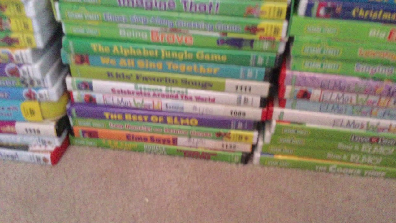 My Completed Sesame Street Elmo World Vhs Dvd Collection By