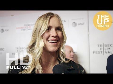 Bethany Hamilton interview on Bethany Hamilton: Unstoppable at Tribeca Film Festival 2018 premiere
