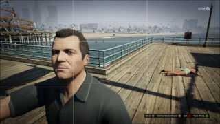 GTA 5: Taking a Selfie after killing