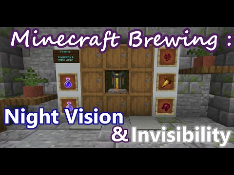Night Vision & Invisibility Potions :: Minecraft Survival Guide :: Brewing And Potions