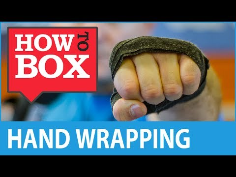 Hand Wraps in Boxing - How to Box (Quick Video)