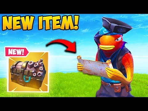 *NEW* TREASURE MAP IS INSANE! - Fortnite Funny Fails And WTF Moments! #489