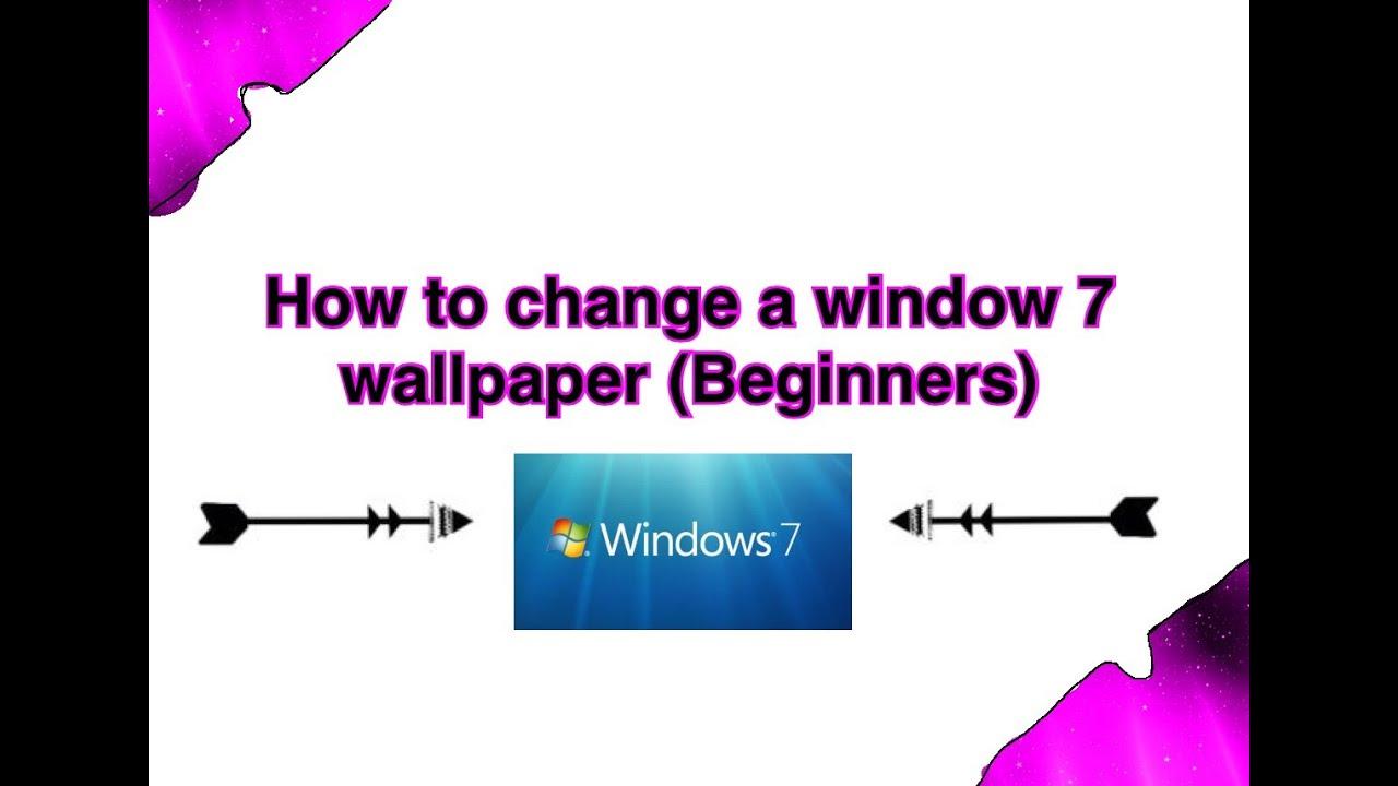 DIYHP Window 7 Change Laptop Wallpaper