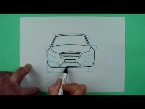 Wie zeichnet man ein Auto ? Zeichnen für Kinder