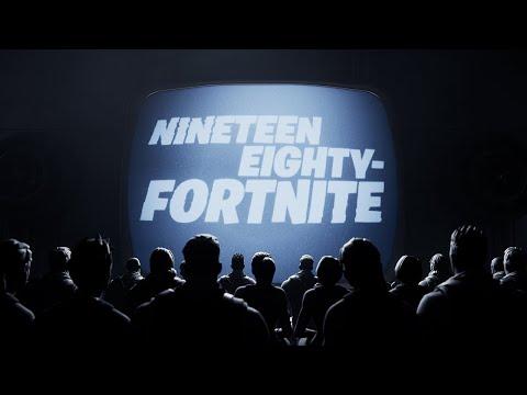Nineteen Eighty-Fortnite - #FreeFortnite