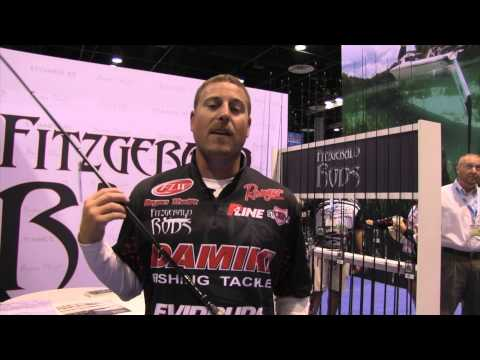 Bryan Thrift and his line of Fitzgerald Rods @ICAST 2015