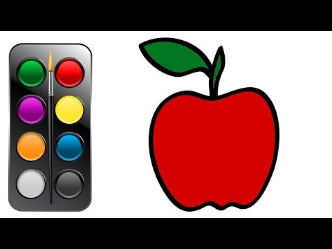 how-to-draw-and-coloring-big-red-apple-|-drawing-and-painting-|-how-to-color-|-coloring-for-children