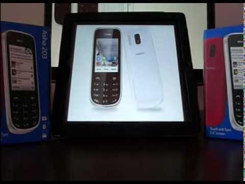 Nokia Asha 203 White