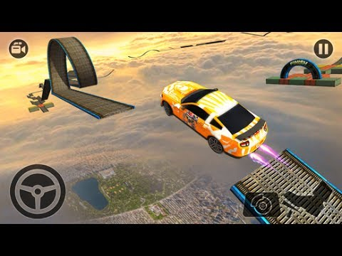 IMPOSSIBLE STUNT CAR TRACKS 3D NEW CARS UNLOCKED | Android / iOS GamePlay 2017