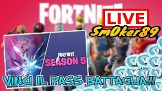 FORTNITE - WIN THE PASS BATTLE SEASON 5